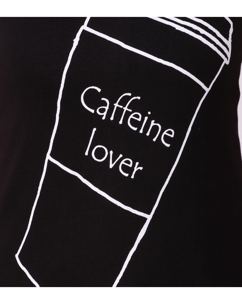CAFFEINE LOVER T-SHIRT